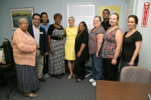 Service Learning Project at The Centre with First Lady Ann Scott, Governor Rick Scott's wife.