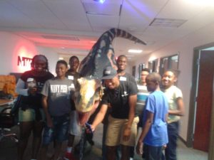 STEM Corps Trip to Nitro Mobile Solutions